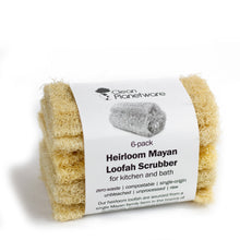 Load image into Gallery viewer, Mayan Natural Loofah Sponge Scrubbers | Well Earth Goods