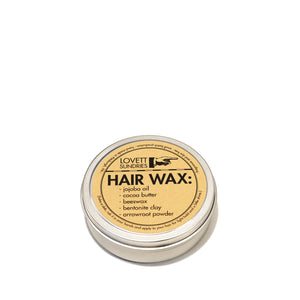 No Plastic Hair Wax | Well Earth Goods