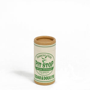 Zero Waste Organic Natural Deodorant For Men And Women - Cedar and Doug Fir- Free Shipping | Well Earth Goods