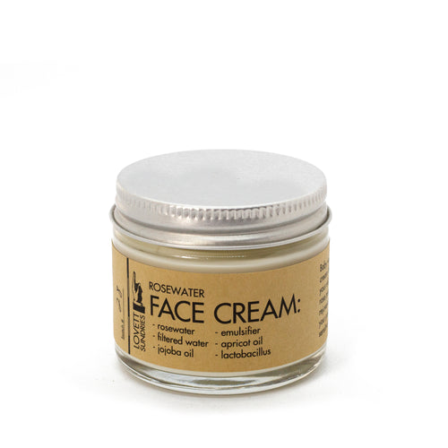All Natural Plastic Free Face Cream