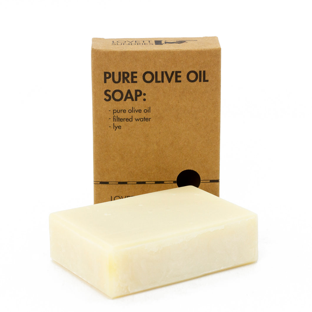 All Natural, Plastic-Free Olive Oil Soap