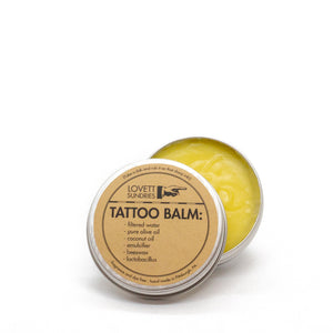Plastic-Free Natural Tattoo Balm