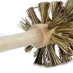Plastic-Free Wooden Toilet Brush | Well Earth Goods