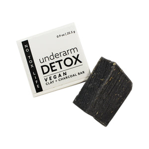 Zero Waste Underarm Detox Bar | Well Earth Goods