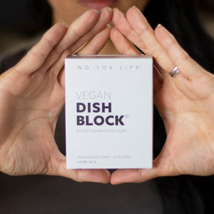 Zero Waste Dish Washing Block Soap | Well Earth Goods
