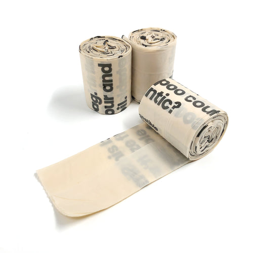 Certified Compostable Dog Poop Bags | Well Earth Goods