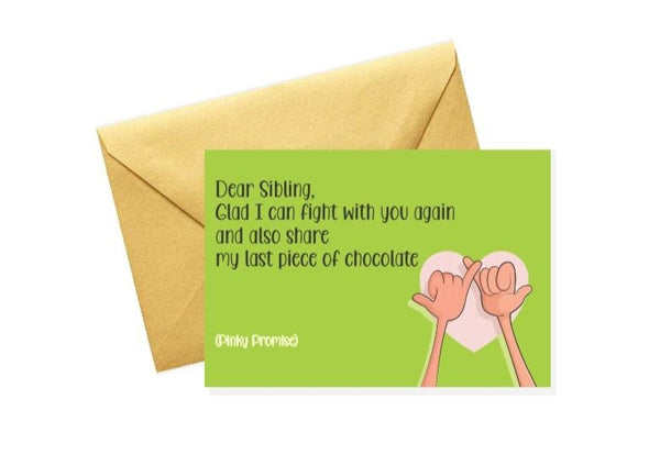 Sibling Greeting Card