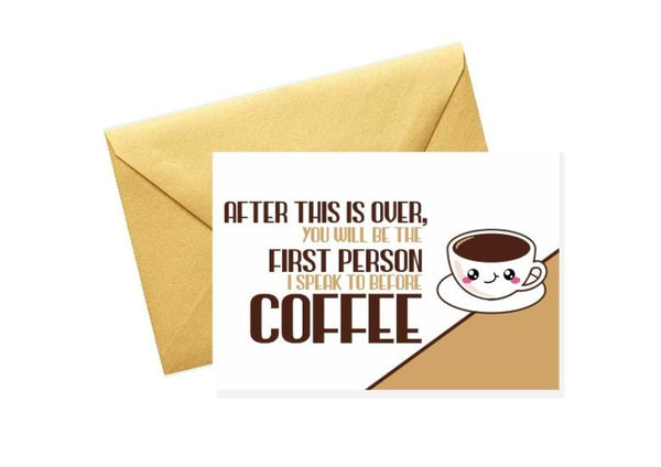 Coffee Greeting Cards