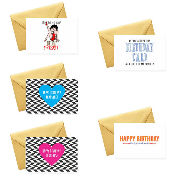 Let me be your Birthday Present - Card Set
