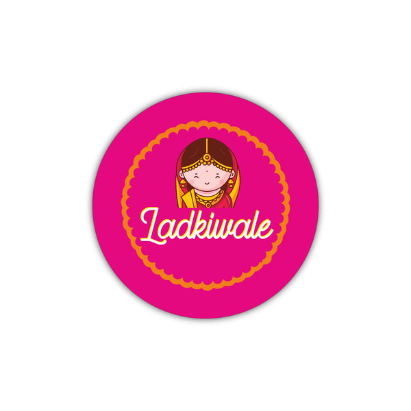 Ladkiwale - Bride's Badge - Wedding & Sangeet Gifting Ideas