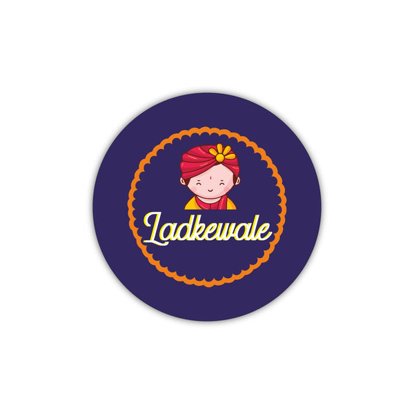 Ladkewale - Badge For Groom - Wedding & Sangeet Gifting Ideas