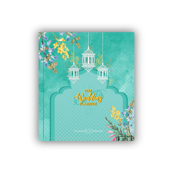 Wedding Planner Sea Green
