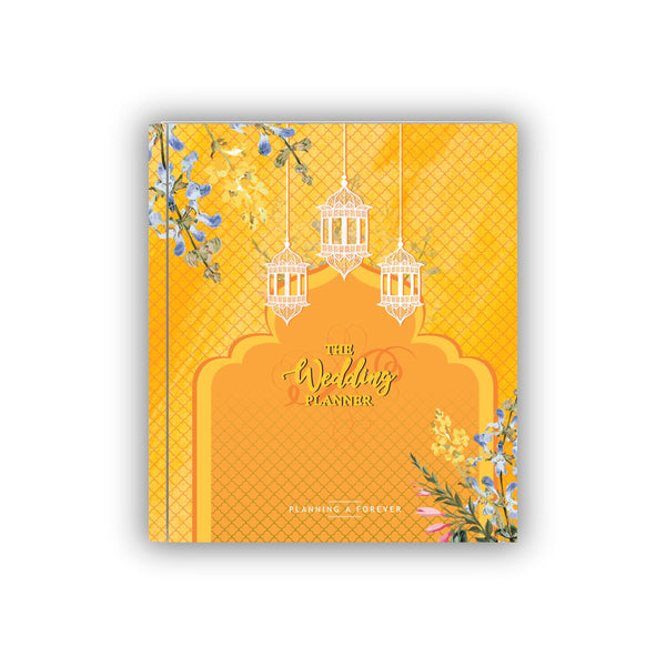 Wedding Planner Yellow
