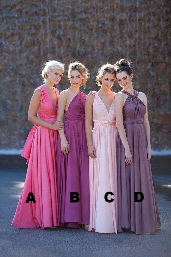 Bridesmaid dress, Wedding dress, Infinity Dress, Multiway Dress, Convertible Dress, Prom Evening dress