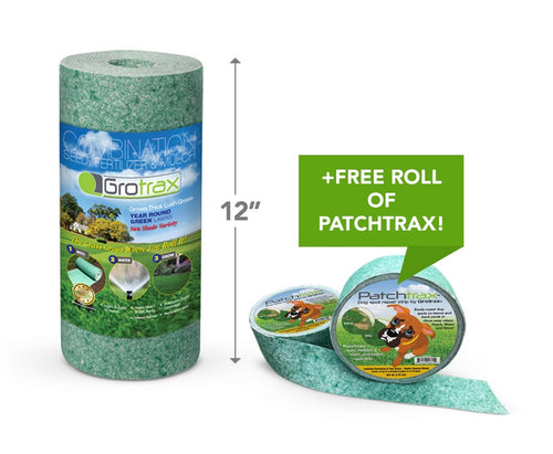 Grotrax Quick Fix Roll (50 sq ft) + Free PatchTrax