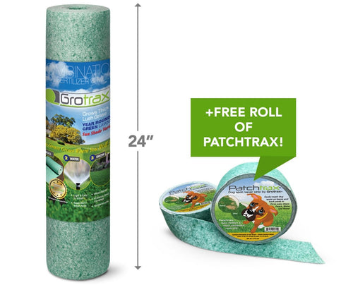 Grotrax New Lawn (200 sq ft roll) + Free PatchTrax