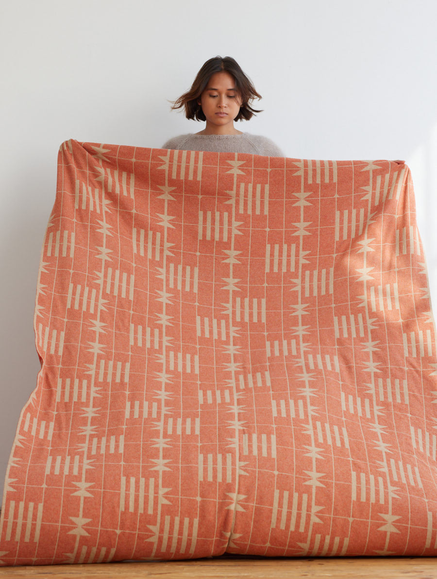 Dovetail Bedthrow in Sandstone and Rust