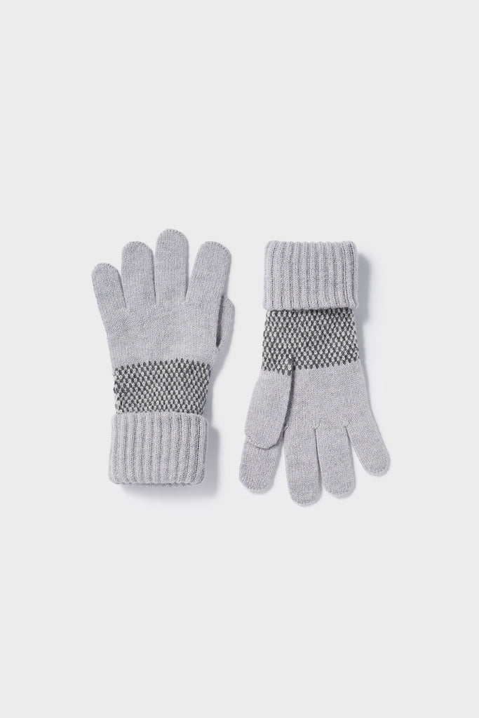 "Gloves ""Tivoli""<br/>Stone, Wolf Grey + Smoke"