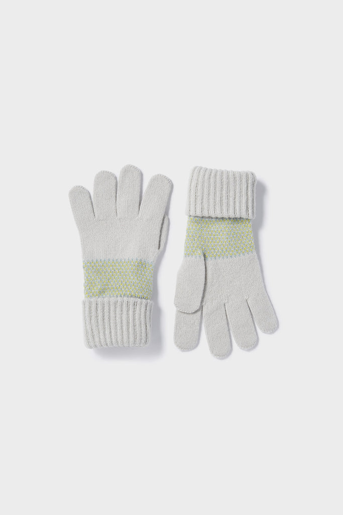 "Gloves ""Tivoli""<br/>Smoke, Lichen + Haar"