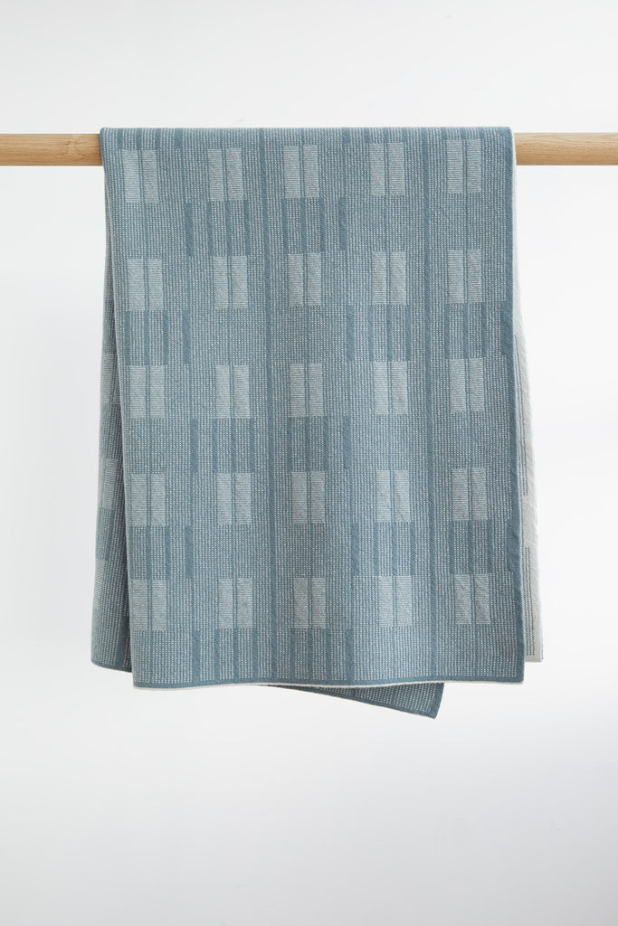 "Small Blanket ""Asplund""<br/>North Sea + Smoke"