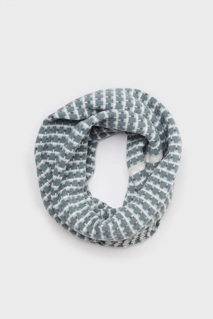 "Circle Scarf ""Basket""<br/>North Sea, Stone + Wolf"