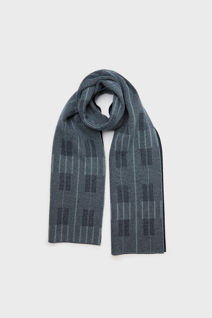 "Scarf ""Asplund""<br/>Navy + North Sea"