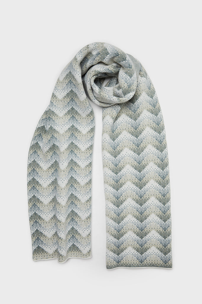 "Scarf ""Elska""<br/>North Sea + Birch"