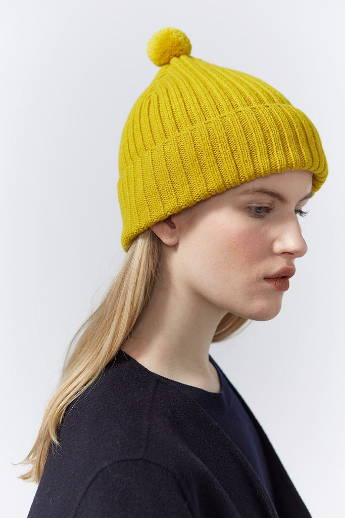 "Pom Hat ""Beacon""<br/>Mustard"