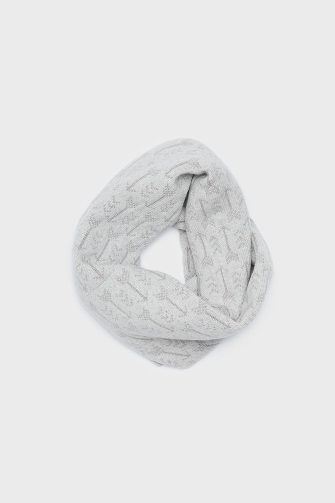 "Circle Scarf ""Arrow""<br/>Smoke + Stone"