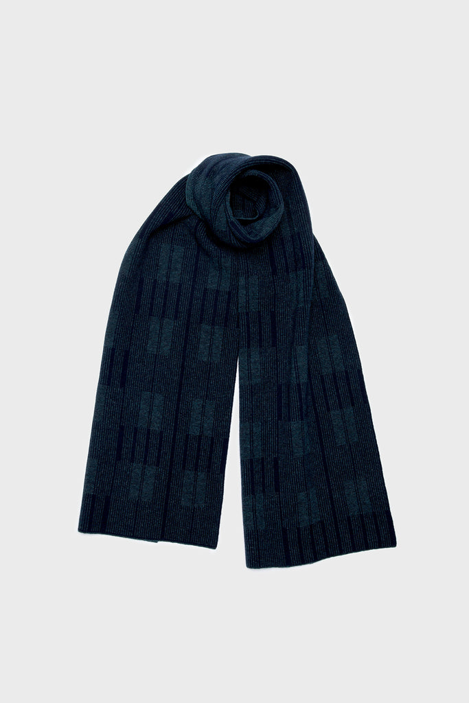 "Scarf ""Asplund""<br/>Navy + Ink"