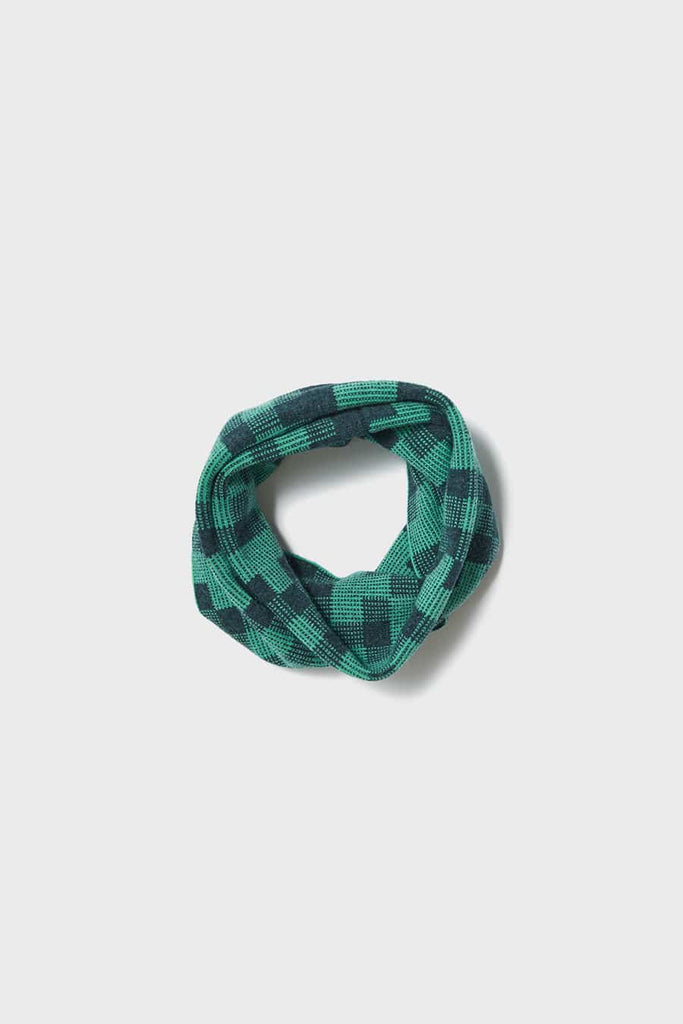 "Circle Scarf ""Faro""<br/>Ink + Kelp"