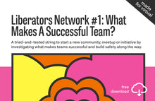 Load image into Gallery viewer, Liberators Network String #1: What Makes A Successful Team?