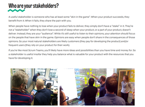 Do-It-Yourself Workshop: Involve Stakeholders In The Sprint Review With Shift & Share & W3