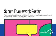 Load image into Gallery viewer, Poster: Scrum framework (PDF)