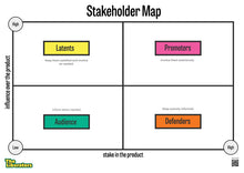 Load image into Gallery viewer, Canvas: Stakeholder Map (PDF)