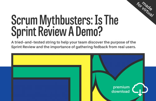 Scrum Mythbusters String #2: Is The Sprint Review A Demo?