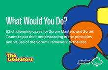 Load image into Gallery viewer, 52 Challenging Cases for Scrum Masters & Scrum Teams (PDF)