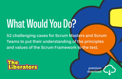 52 Challenging Cases for Scrum Masters & Scrum Teams (PDF)