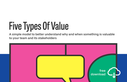 Canvas: Fives Types Of Value (PDF)