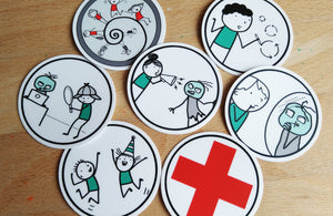 Zombie Scrum Stickers
