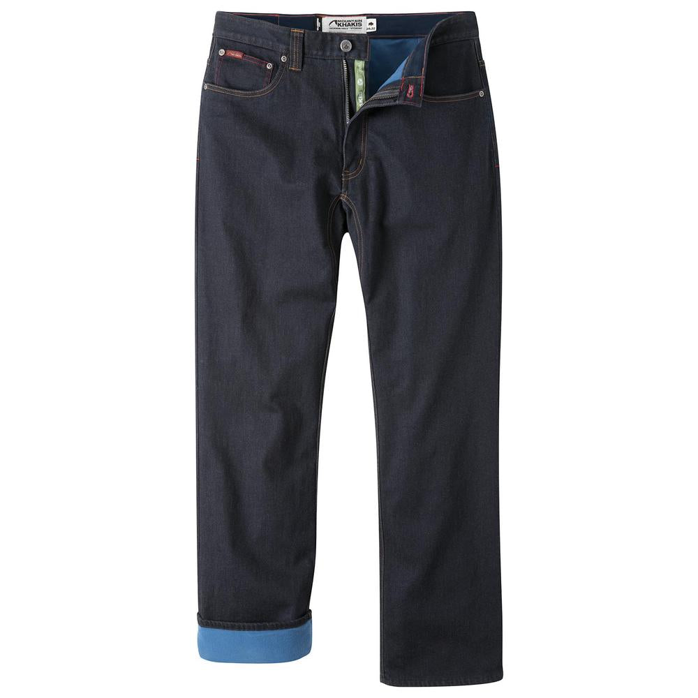 Mountain Khakis Men's Organic Lined Jeans