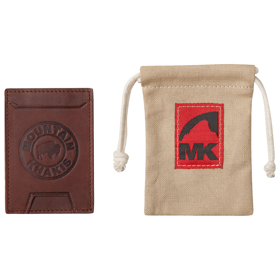 Mountain Khakis Leather Wallet