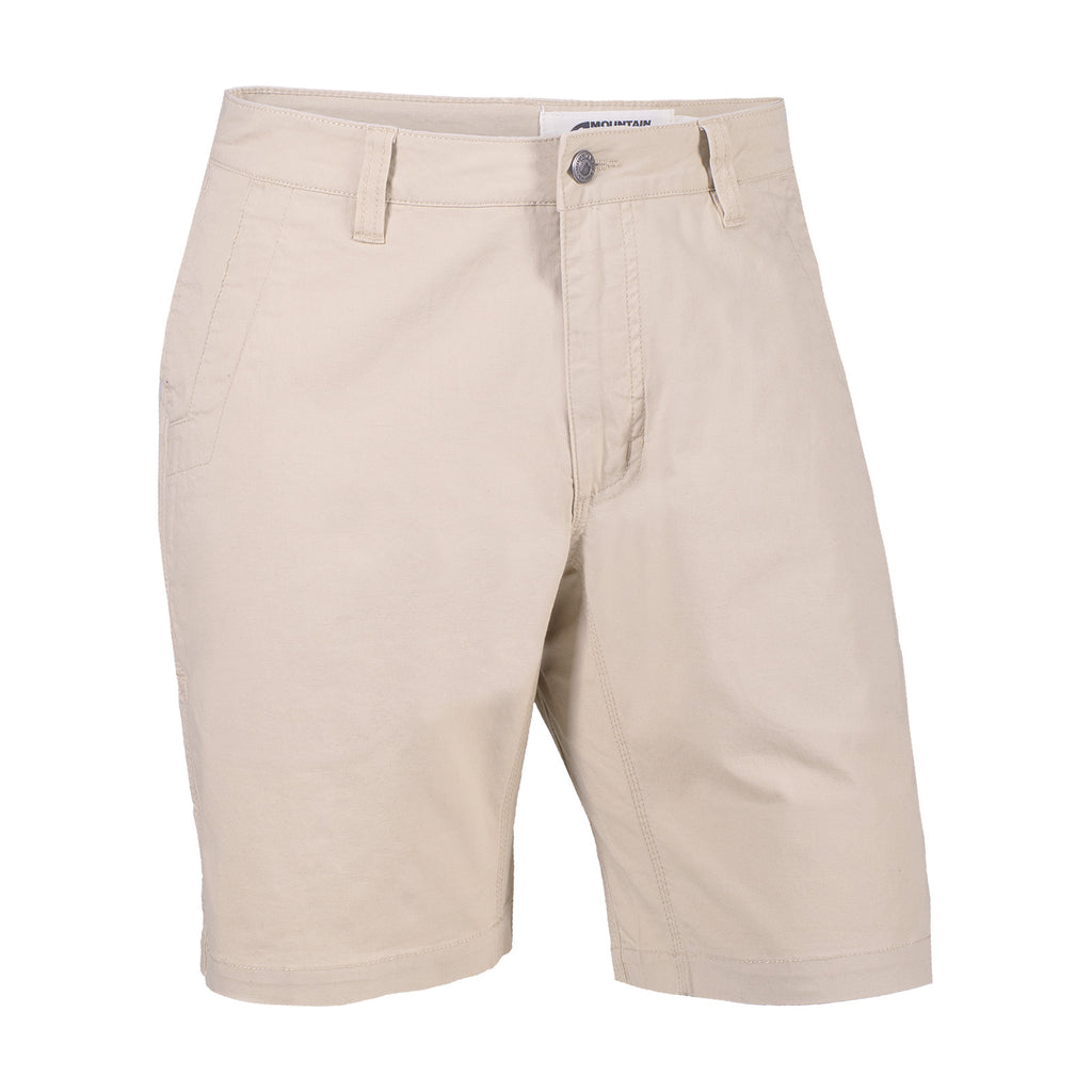 Mountain Khakis | All Mountain Utility Short | Lightweight, durable and designed with signature Mountain Khakis angled hand pockets, hidden side-seam deep-drill hand pocket, reinforced pocket bags, triple-stitched seams, and inseam action gusset. This short is the new light-weight version of the Alpine Utility Short.