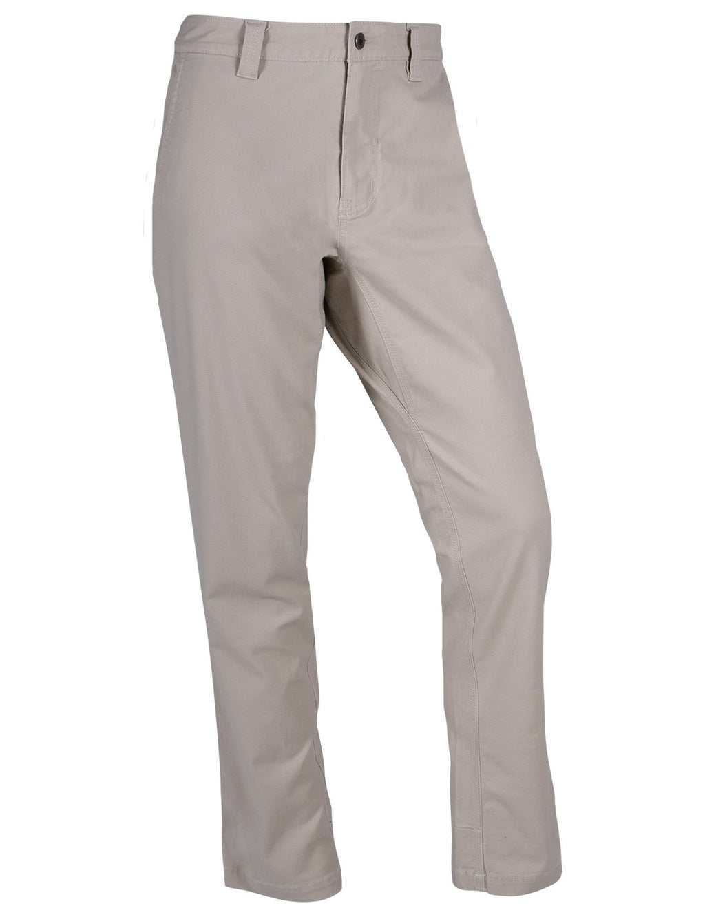 Front-facing silhouette of the All Peak Pant in cream Freestone color.