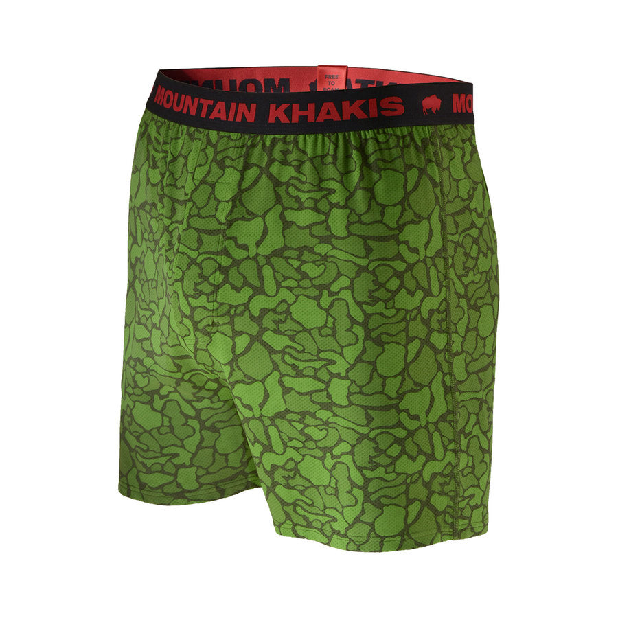 Men's Camo Bison Boxer
