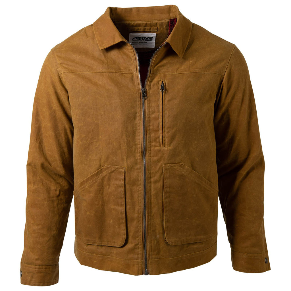 Men's Waxed Canvas Jacket | Mountain Khakis Buckrail Jacket