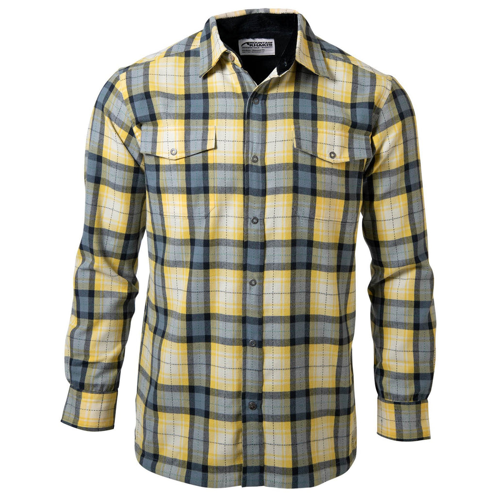 Men's Christopher Fleece Lined Shirt | Mountain Khakis