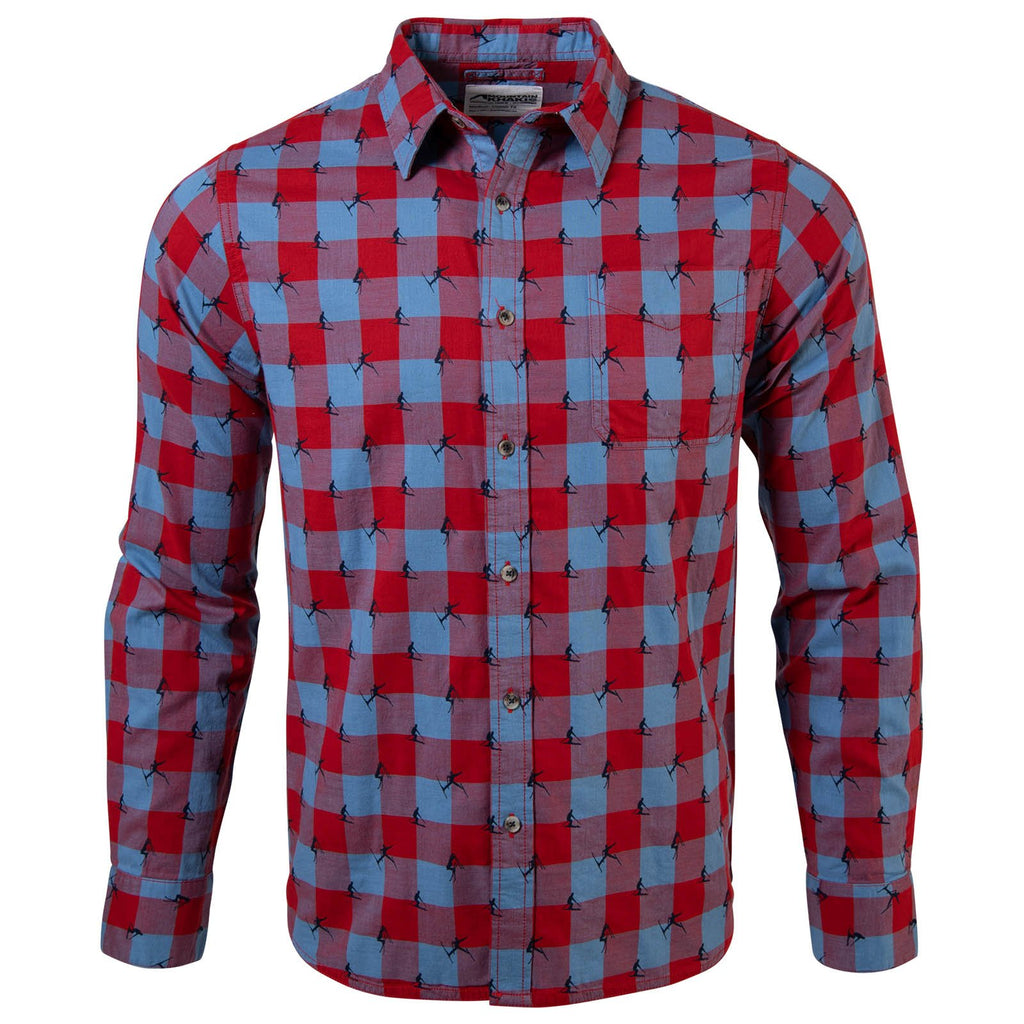 Freestyle Men's Button Down Shirt | Freestyle Long Sleeve Shirt | Mountain Khakis