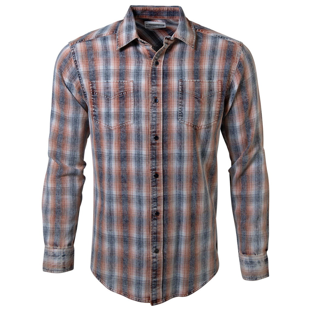 Men's Plaid Shirt | Hombre Long Sleeve Shirt | Mountain Khakis