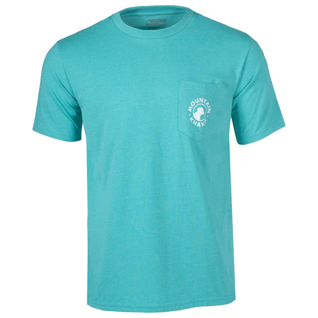 Men's Mountain Khakis Pocket Dog T-Shirt